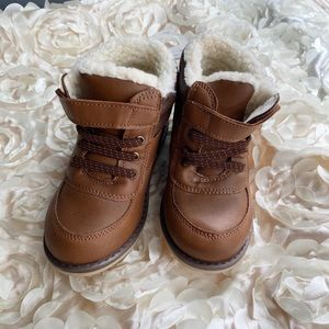 Brown Winter Boots (Size 10 Toddler)
